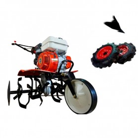 OFERTÓN CORTAMOS PRECIOS-Motoazada Powerground 700 OHV,208cc,7cv,90cm+kit agrícola (Ruedas 400 y asurcador)