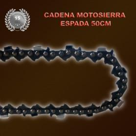 Cadena de Recambio para Motosierra de Espada de 50cm
