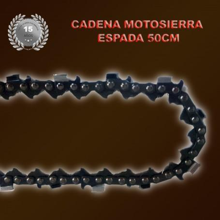 Cadena de Motosierra Profesional Espada de 50cm