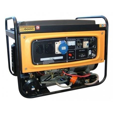 GENERADOR GAS/GASOLINA 5.5KW KIPOR KNGE6000E3