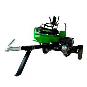 Astilladora gasolina Profesional con remolque 35 Toneladas KAPOTHA 2 Posiciones