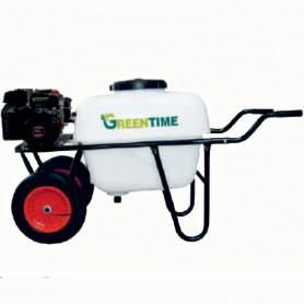 Carretilla Sulfatadora  Gasolina. 2,5 HP. 100 litros. 24 kg. GT CARRETILLA 2R4T