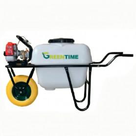 Carretilla Sulfatadora Gasolina 26 cc. 100 litros. 22 Kg.