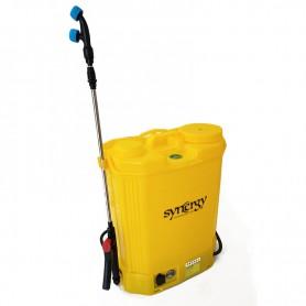 Sulfatadora de batería mochila Synergy 16 L 12v con 4 boquillas y 6 horas autonomía