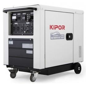 GENERADOR DIGITAL INVERTER DIESEL  KIPOR 5KW  ID6000