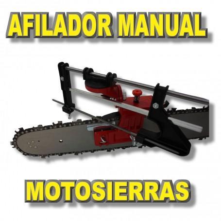 Afilador de motosierra manual