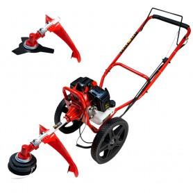 Desbrozadora de ruedas Powerground 52cc Pro Wheels