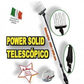 Vareador de olivas PROFESIONAL Powersolid telescópico 500Watt  12 volt.