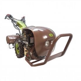 Motocultor Groway Panzer motor Diesel arranque eléctrico