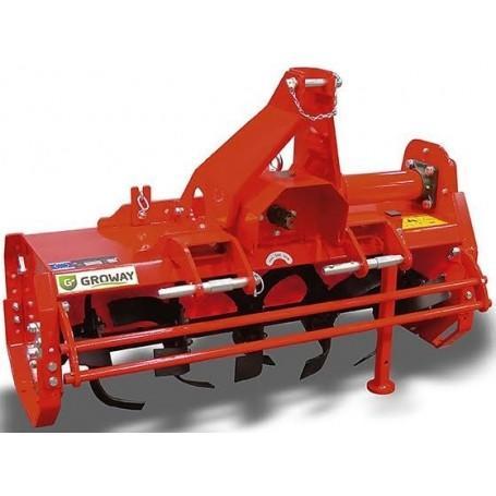 Rotovator  Groway stiere 105 para tractores de 12 a 40 cv con toma de fuerza ancho de 105cm y ajuste de posición lateral
