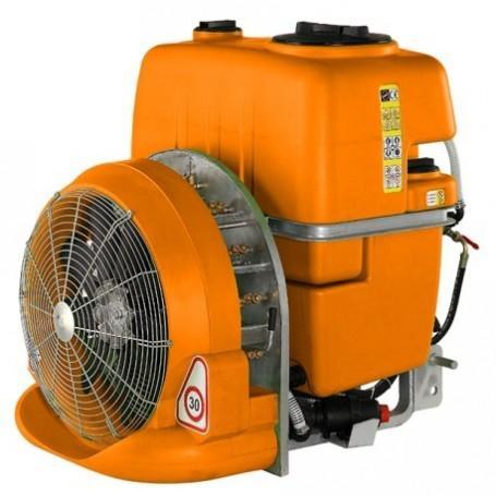 Atomizador - sulfatadora por toma de fuerza de 600 litros de capacidad y 50 bares para tractores de hasta 35CV