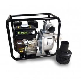 Motobomba Groway 80 de gasolina 6,5 cv, 60.000 l/h, Autoaspirante