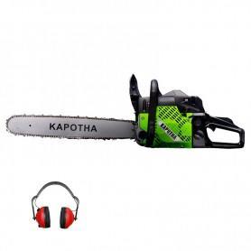 Motosierra Gasolina 58 cc Kapotha + Protecciones