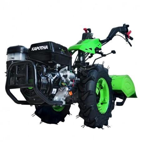 Motocultor de gasolina PVG Semiprofesional KAPOTHA Ultimate K-13.0, arranque eléctrico, 13CV , 389CC