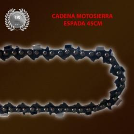 Cadena de Motosierra Profesional de Espada de 45cm