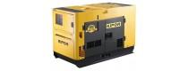 Generadores diesel ultrasilenciosos 51 dB trifásicos baratos