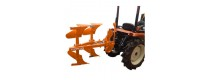 Asurcadores reversibles para tractores
